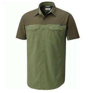 Columbia Silver Ridge Blocked Short Sleeve Shirt